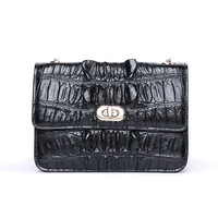 2018 Small Women Bags Real Crocodile leather Messenger Bag Clutch Bags Designer Mini Shoulder Bag Women Handbag Hot Sale purse