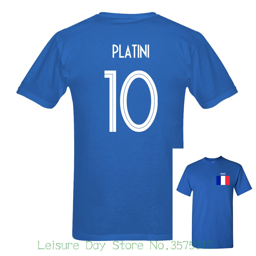 2018 Newest France Platini Number 10 Russia World Match Cup 10