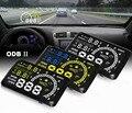 HUD Head Up Display автомобилей Hud дисплей автомобиля hud Hud дисплей Стайлинга Автомобилей Превышение Скорости Предупреждение Системы Хорошее качество OBD2 Интерфейс