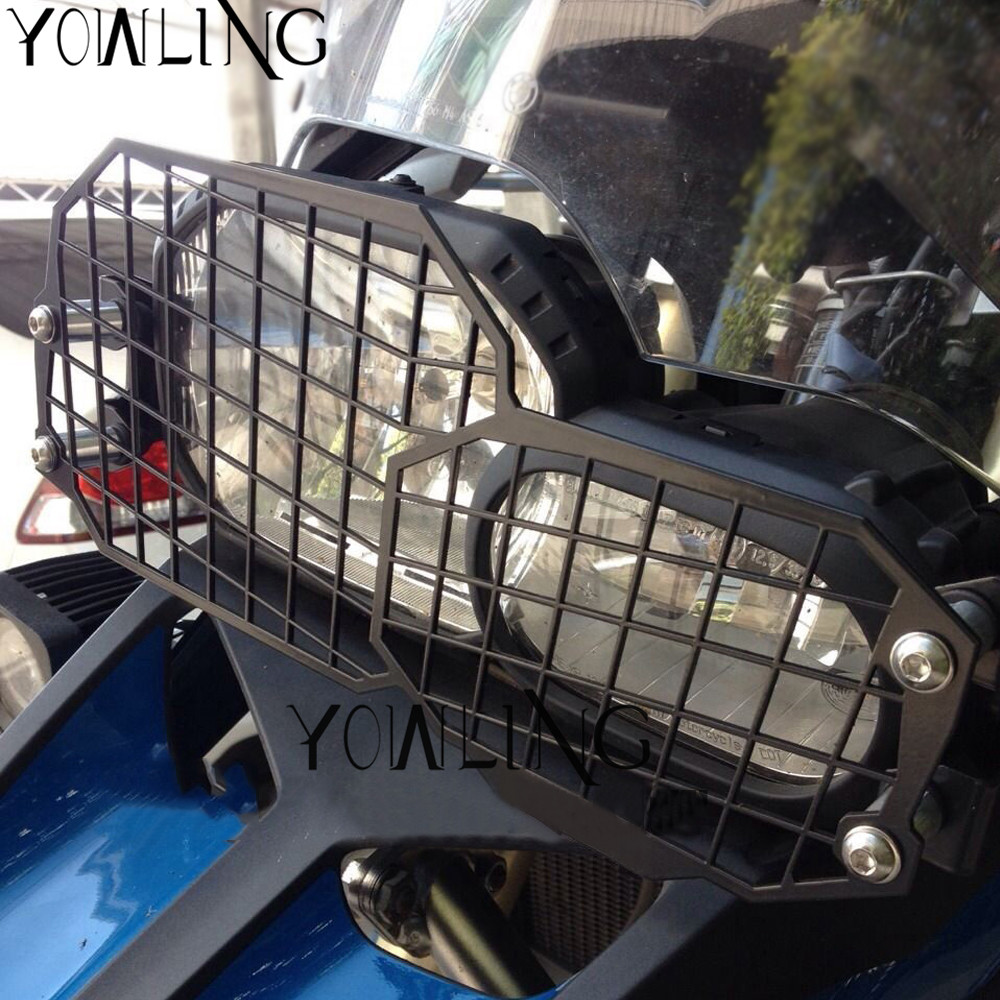 For BMW F800GS F700GS F650GS Twin Adventure 2008-2016 Motorcycle Headlight Bracket Guard Grid Grille Protector Lense Cover