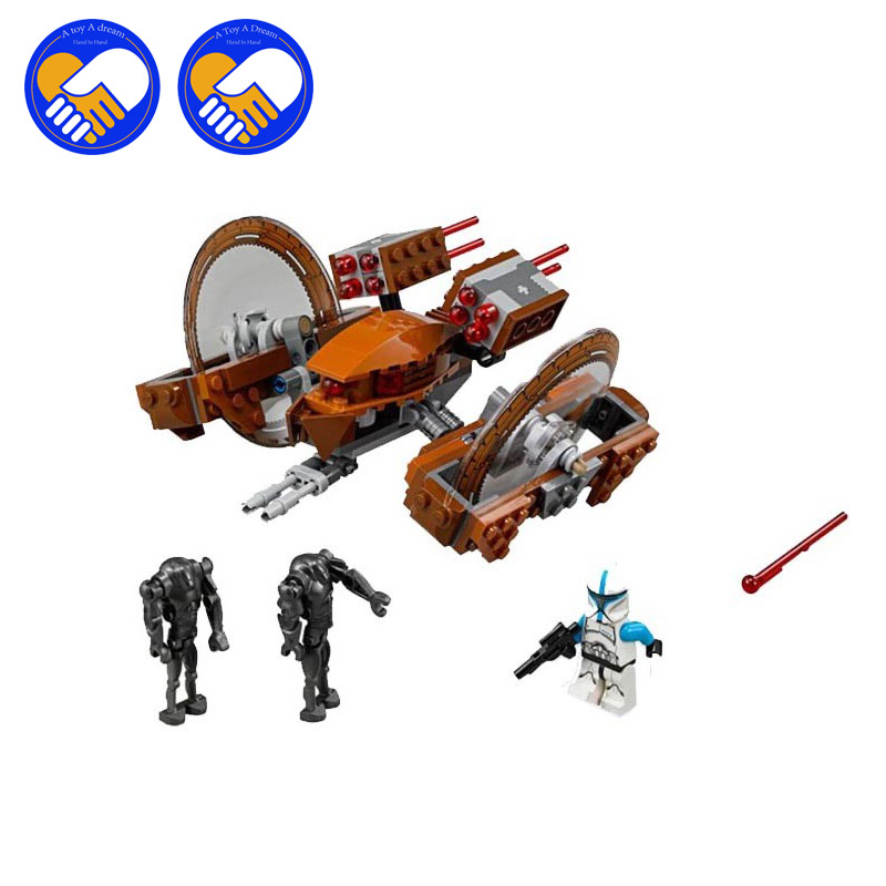 (A Toy A Dream)10370 StarWars Attack of the Clones Hailfire Droid Exclusive Compatible With Lepin Building blocks Bricks Toys