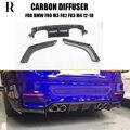 M3 M4 V Стиль углеродного волокна задний бампер диффузор с сплиттером для BMW F80 M3 F82 F83 M4 2012-2019 3 шт./компл.