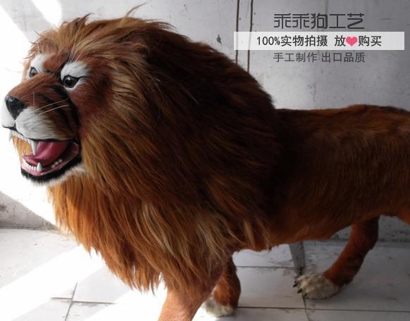 simulation cute lion 100x70x30cm model polyethylene&furs lion model home decoration props ,model gift d882 simulation cute squatting cat 35x28x26cm model polyethylene