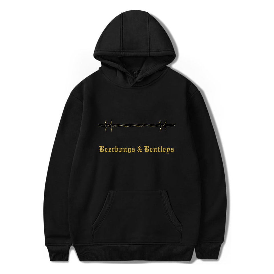 Post Malone Hoodies Hip Hop Print Spring/Autumn Warm Cool Long Sleeve Sweatshirts Hoodies Women/Men Sweatshirt Top