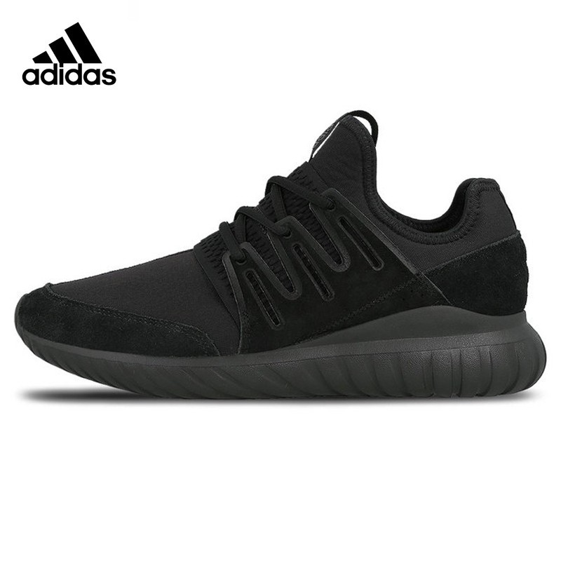 Adidas Clover Tubular Radial Men Running Shoes ,Original Sports Outdoor Sneakers Shoes ,Black,Breathable S80115 EUR Size M