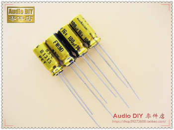 2020 hot sale 30PCS/50PCS Nichicon FW series 100uF/16V audio electrolytic capacitors free shipping