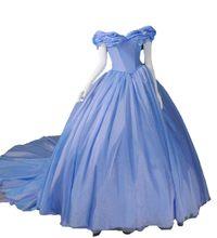 Fora Do Ombro Azul Vestidos Quinceanera vestido de Baile 2019 Bow Organza Vestidos de 15 Años 16 Inchados Doce Vestido de Baile Longo