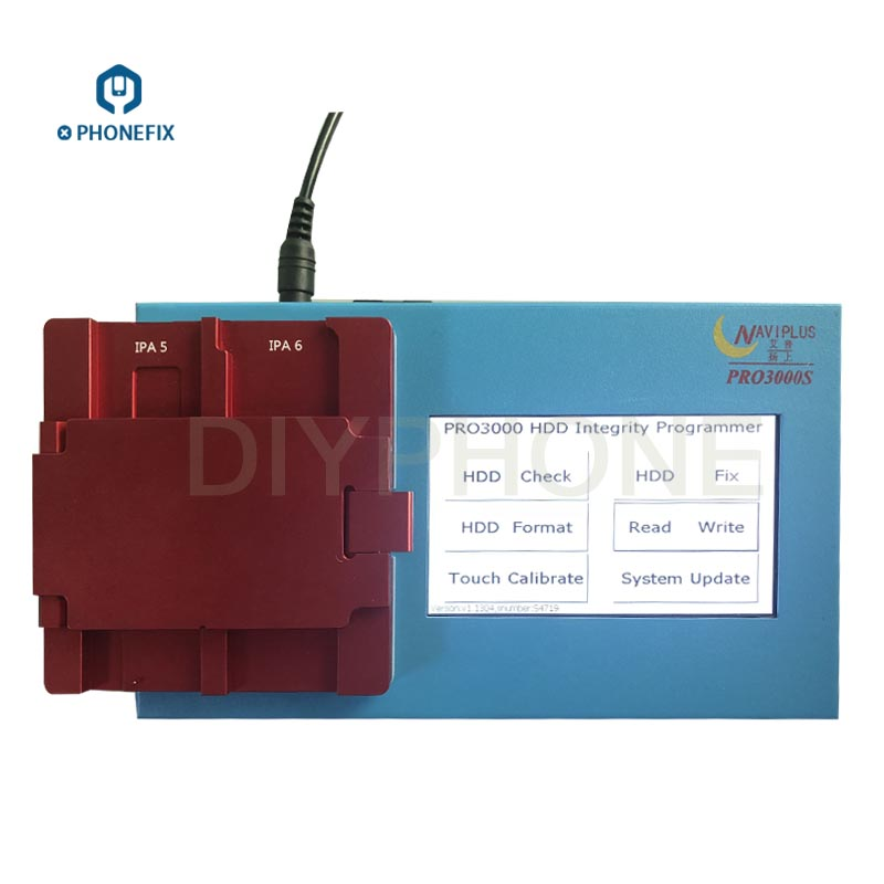 PHONEFIX Naviplus Pro3000s NAND Flash Programmer NAND SN Read Write Tool For iPad 2 3 4