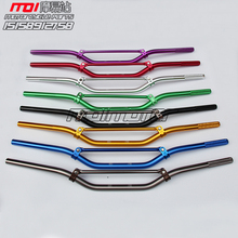 FREE SHIPPING 7 8 MOTORCYCLE BLACK 800MM HANDLE BARS 22MM HANDLEBARS HANDLE TUBES MOTOCROSS ATV QUAD