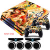 ONE PIECE Vinyl PS4 Pro Anti Slip Skin Portective Sticker Decal 2 Gamepad Skins For Playstation