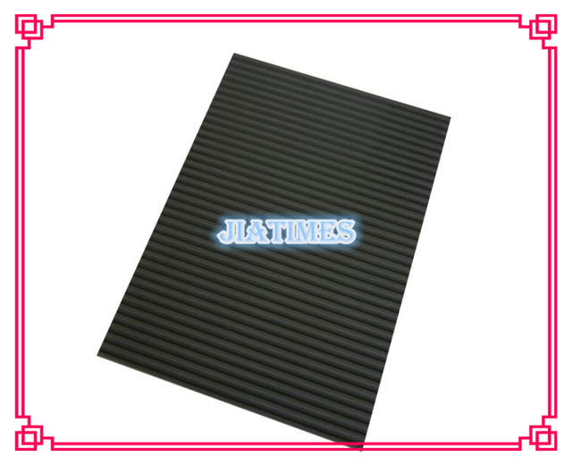 Free Shipping 1pc Large Size Watchmakers Rubber Anti Slip Desk Mat for Watch Repair Ribbed Self Adhesive