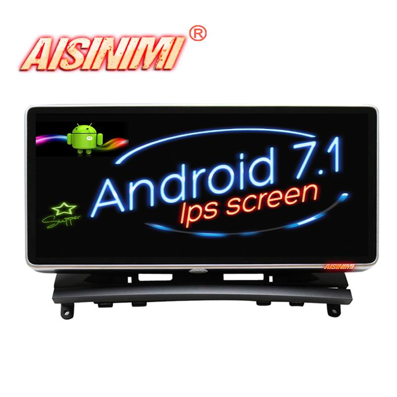 Android 7 1 Car Dvd Navi Player FOR Mercedes Benz C Class W204 2008 2010 car