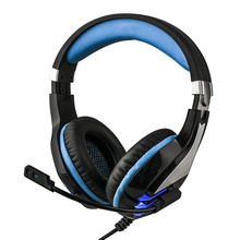 HS063 Professional Headset Gamer HiFi Stereo LED Headphones Wired with Microphone Over Ear Headphones Gaming edifier h850 over ear hifi headphones professional audiophile headset lightweight wired music headphone for iphone ipod tablets