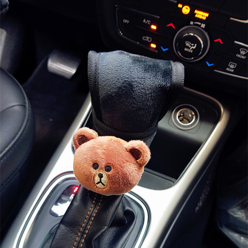 Cute-Cartoon-Bear-Car-Interior-Accessories-Plush-Universal-Steering-Wheel-Cover-Seat-Belt-Cover-Rearview-mirror