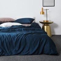 Tencel Duvet Cover Set Luxury Bedding Set King Size Soft Pillow Cases Lyocell Sheet Set Queen Cool Bedding For Summer