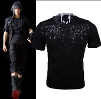Final Fantasy XV Noctis Cosplay T Shirt Anime FF15 Men T Shirt Costume Cotton Short Sleeve