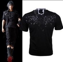 Final font b Fantasy b font XV Noctis Cosplay T shirt Anime FF15 Men T Shirt