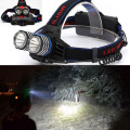 4000 Lumens USB Headlamp Headlight 2x XM-L T6 LED Waterproof Flashlight Head Torch AA/AAA/18650 Head Lamp Lanterna