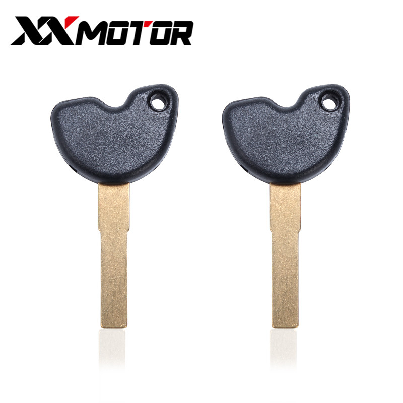 Motorcycle Keys Embryo Motor Uncut Blank Blade For Piaggio Fly150 Typhoon125 NEW FLY150 LX150 IE Vespa LX 3V S150 IE LXV150 IE