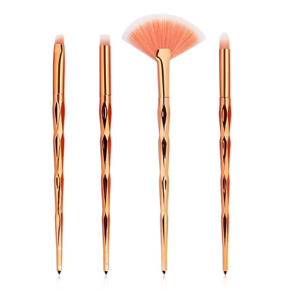 rose golden-4pcs