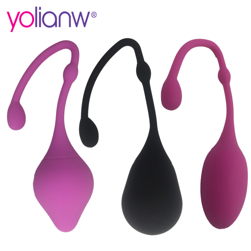 Medical silicone kegel balls vaginal vibrator sex toys vagina ball tighten aid love geisha ball ben wa sex products for woman 100% medical silicon vibrator kegel balls vibrator sex toys bolas vaginal ball tighten aid love geisha ball ben wa for woman