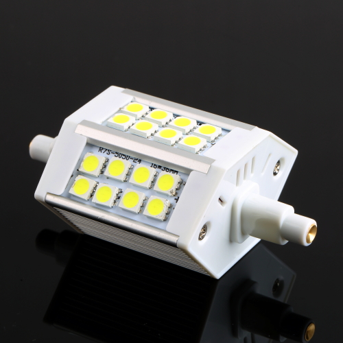 Replacement for halogen flood lamp R7S24 SMD5050 LED 85~265V 5W Floodlight Replacement Lamp Cool White 6500kColor temperature