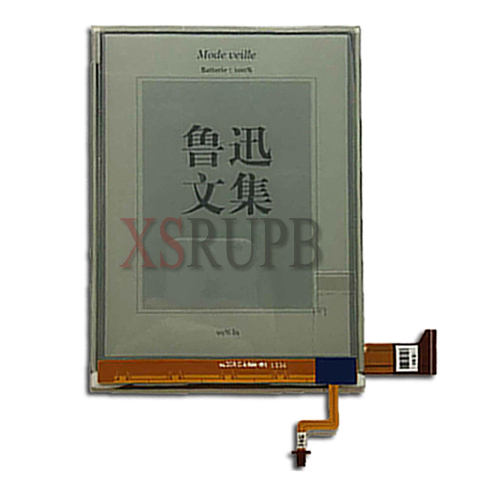 100% original 6 pulgadas HD ED060XG3 ED060XG3 (LF) t1-00 LCD para los lectores de libros electrónicos pantalla LCD (no utilizar bolsillo)