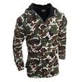 Homens Jaqueta de Inverno 2016 Novos Homens Chegada Jaqueta Com Capuz Militar Do Exército Moda Casacos Casual Outono Casacos com capuz M-XXL MQ488