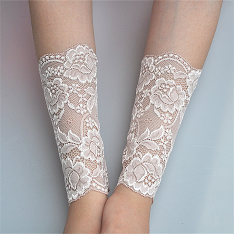arm tattoo sleeves scar lace sun summer sleeve protection uv elbow cuff driving warmers aliexpress accessories clothing