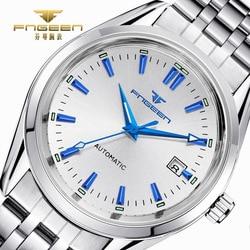 FNGEEN Luxury Men Watches Self Winding Tourbillon Wristwatch Date High Quality Waterproof Automatic Hodinky Mechanical Watches