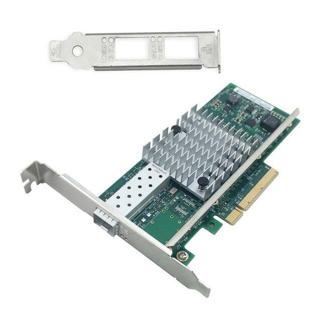 Single Port 10 Gigabit Ethernet PCIe Placa de Rede Do Servidor Adaptador 82599ES Chipset