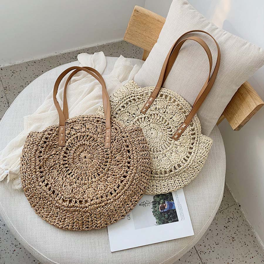 Rattan Shoulder Bag 6