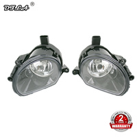 2pcs Car Light For Audi Q7 2006 2007 2008 2009 Car styling Front Halogen Bumper Fog Lamp Fog Light