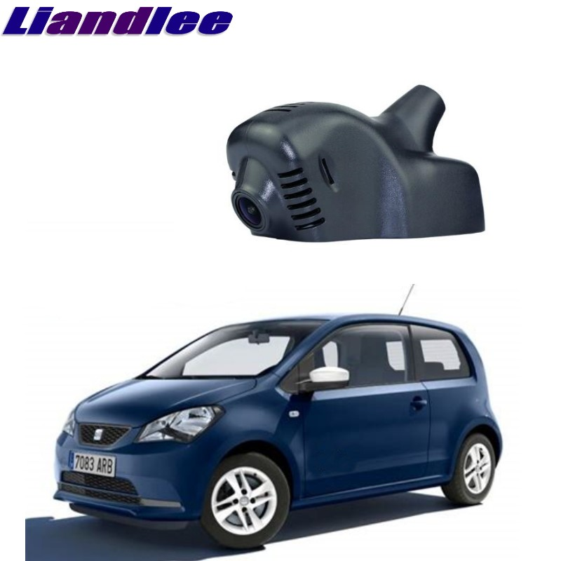 Liandlee For Volkswagen e-up / up / SEAT Mii / Skoda Citigo 2011~2018 Car Black Box WiFi DVR Dash Camera Driving Video Recorder карта памяти sdhc 32гб class 10 uhs i u3 100r 80w kingston canvas react