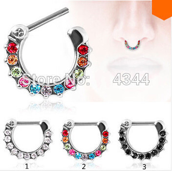 1pcs Nose Ring Body...