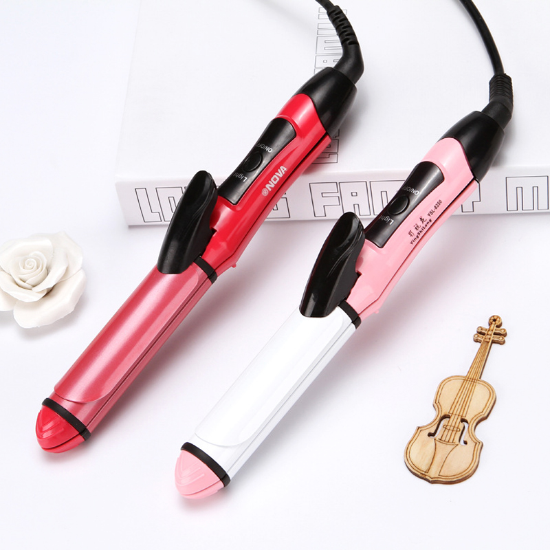 2 In 1 Professional Electric Hair Straightener Flat Iron Hair Curling Iron Hair Crimper Styling Tools D45
