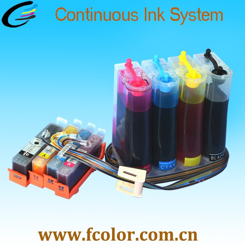 цена 178 Ink System CISS for HP Photosmart 5510 with Permanent chip and inks Free Shipping