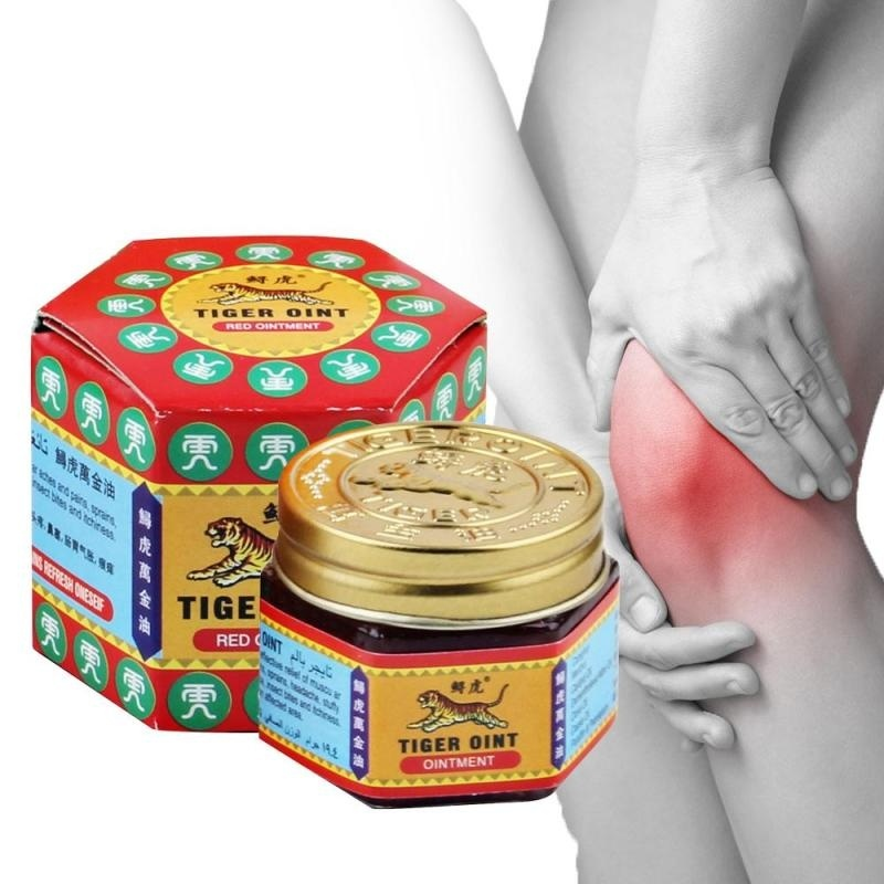 100% Original Red/White Tiger Balm Painkiller Ointment Muscle Pain Relief Ointment Soothe First Aid Kits For Outdoor Activity
