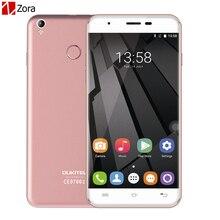 Oukitel U7 Plus Quad Core MTK6737 4G Smartphone 5.5 Pouce Android 6.0 RAM 2 GB ROM 16 GB Téléphone Portable Double SIM Ultra Mince Mobile téléphone