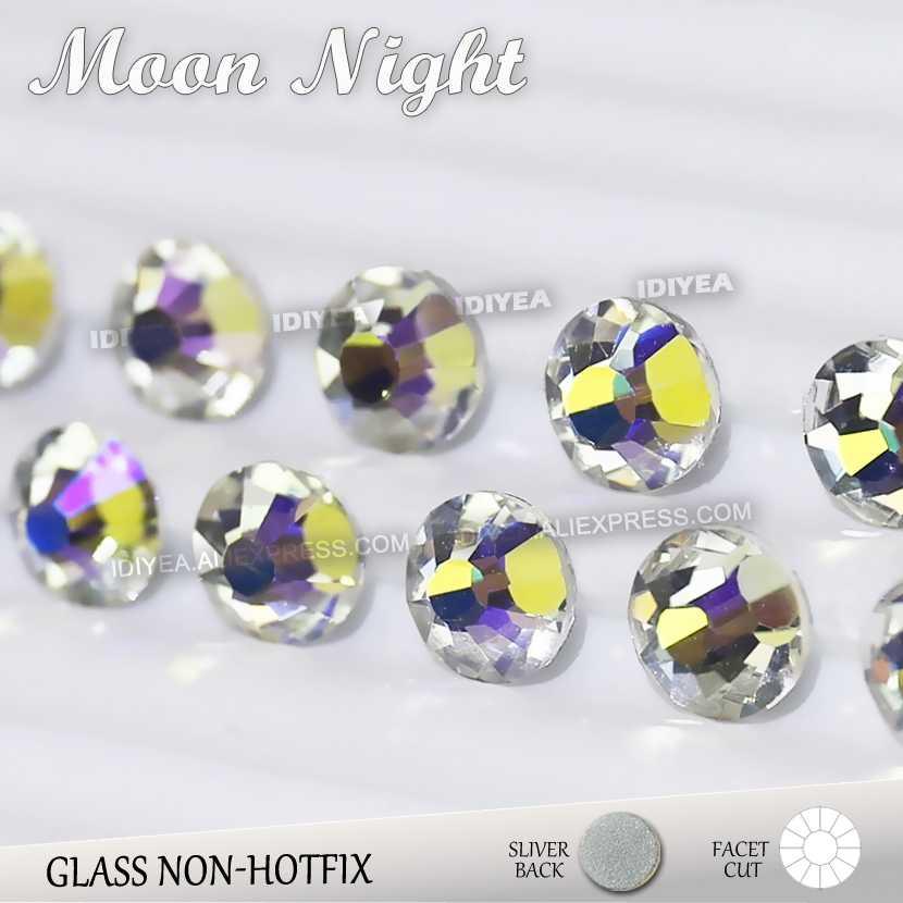 Moon Night SS3 SS4 SS5 SS6 SS10 SS20 SS30 to DIY Nail Art Rhinestones  Glitter Crystals ca5c67a478e4