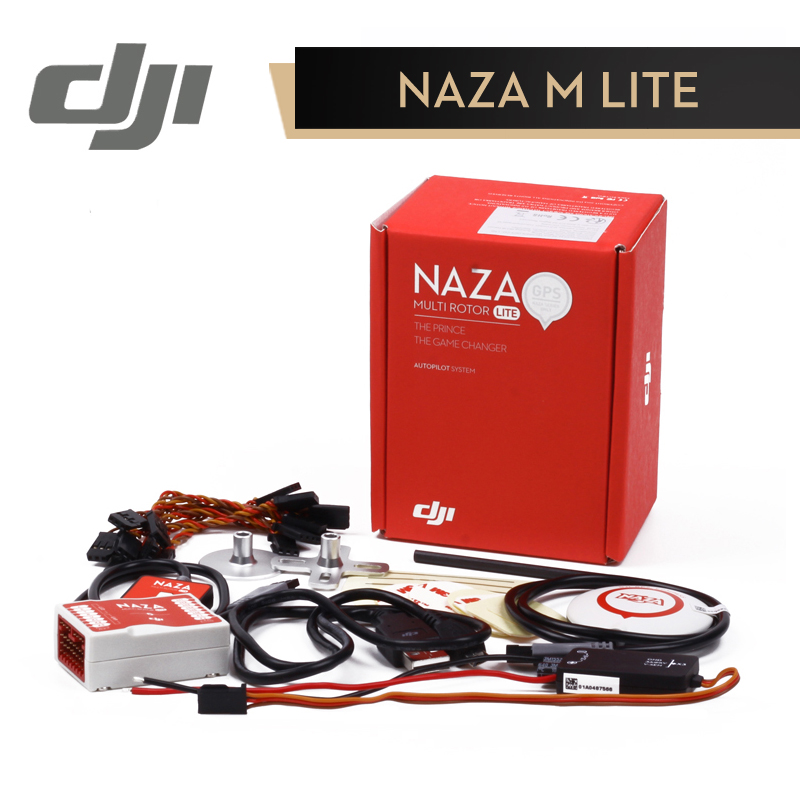 DJI Naza M Lite Flight Controller Naza-M Lite ( with GPS ) Multi-rotor Fly Control Combo for RC FPV Drone Quadcopter Original drone dji spark fly more combo 1080p new mini portable fpv drone dji quadcopter 100% original