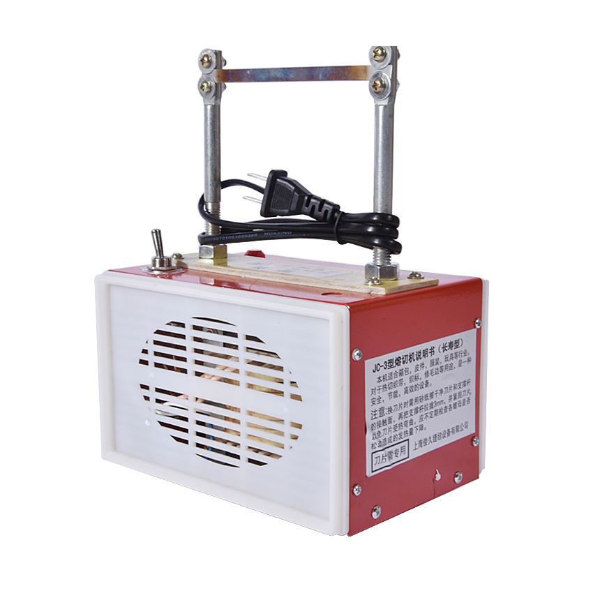 JC-3 ribbon woven label cutting machine / hand cutting machine, weaving machine, cutting ...