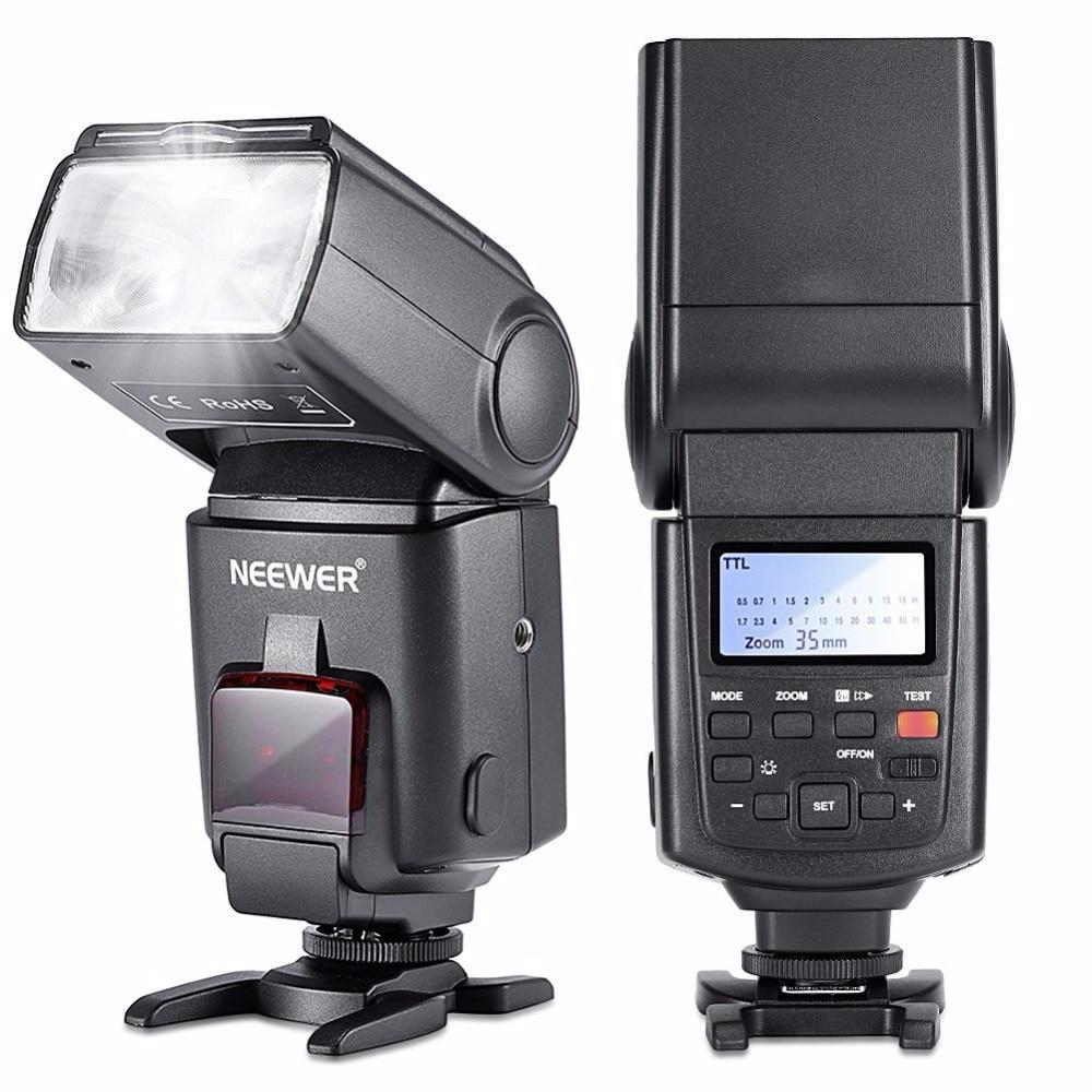 Neewer NW680 HSS Flash Flash E-TTL Flash pour Canon 5D MARK 2 6D 7D 70D 60D 50DT3I T2I et autres appareils photo reflex numériques Canon