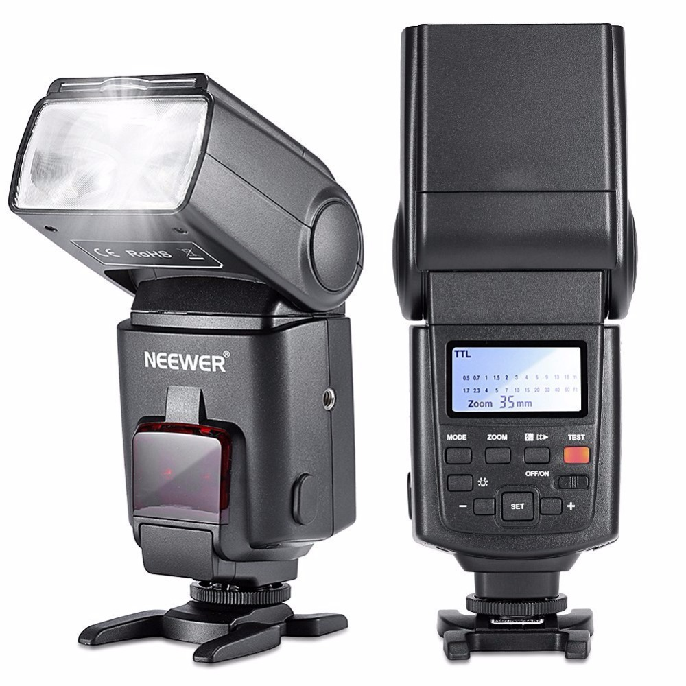 Neewer NW680 HSS Speedlite Flash E-TTL Camera Flash for Canon 5D MARK 2 6D 7D 70D 60D 50DT3I T2I and other Canon DSLR Cameras new lp e6 2650mah 7 2v digital replacement camera battery for canon eos 5d mark ii 2 iii 3 6d 7d 60d 60da 70d 80d dslr eos 5ds
