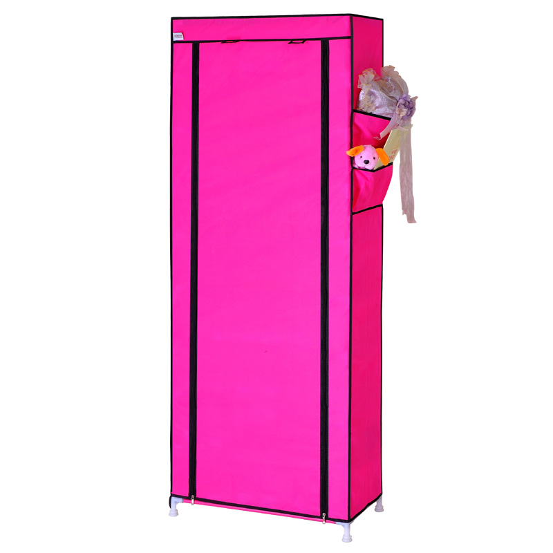 National simple folding shoe storage cabinet to put the child ten layers of cloth, wrought iron rack
