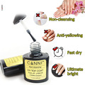 7.3ML UV/LED CANNI No Sticky Topcoat Ultimate bright No Wipe Top coat Gel Polish no -need cleanser