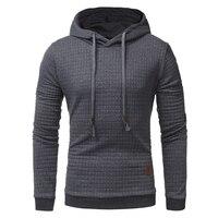 2017 Autumn And Winter New Men S Diamond Shaped Collision Hit Zipper Collar Collar Sweater Jacket