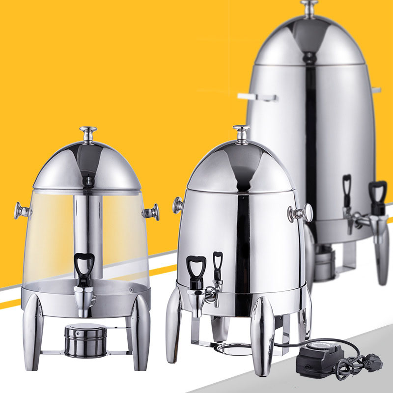 Jamielin Buffet Coffee Tripod Insulation Milk Cold And Warm Electric Heated Beverage Machine Stainless Steel Juicer