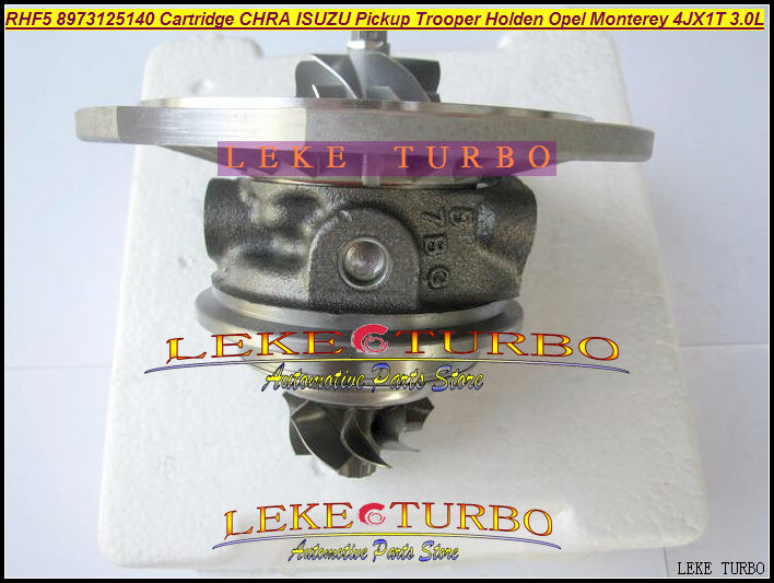 Free Ship Turbo Cartridge Chra Core RHF5 8973125140 Turbocharger  For ISUZU Pickup Trooper 98- For Opel Monterey 95- 4JX1T 3.0L free ship rhf5 8973544234 8973109483 turbocharger cartridge turbo chra core for isuzu rodeo kb d max pickup 4jh1t 4jh1t c 3 0l