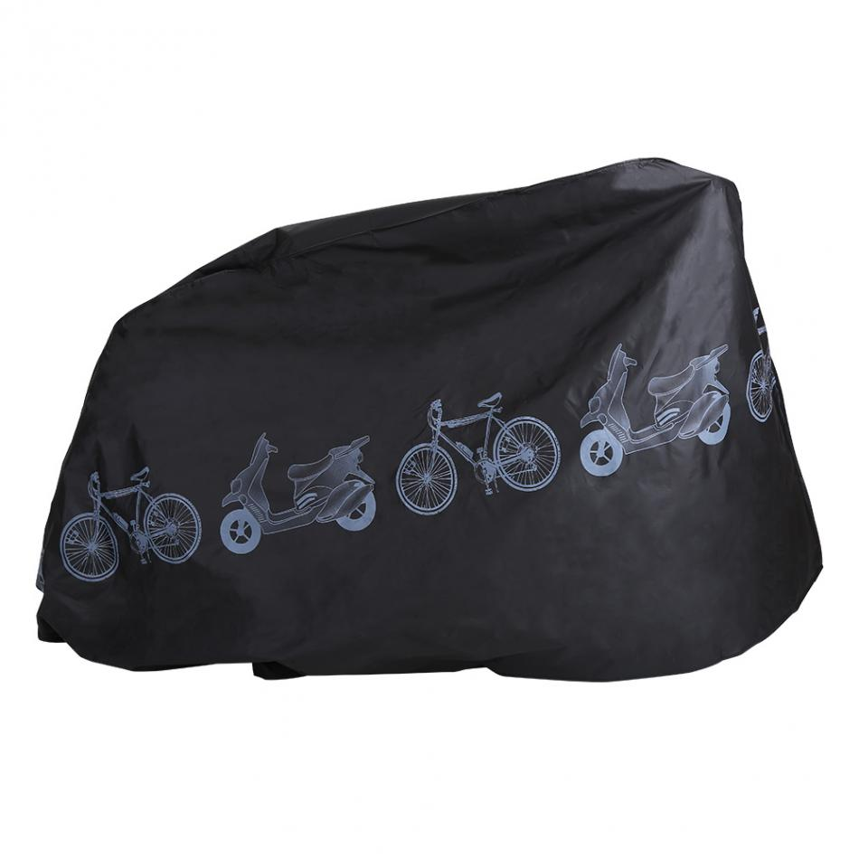 Rainproof Moutain Road Bike Rain Cover Polyester fibre Bicycle Cover 210 x 100cm Dust Proof Cover for Motorcycle/Bicycle